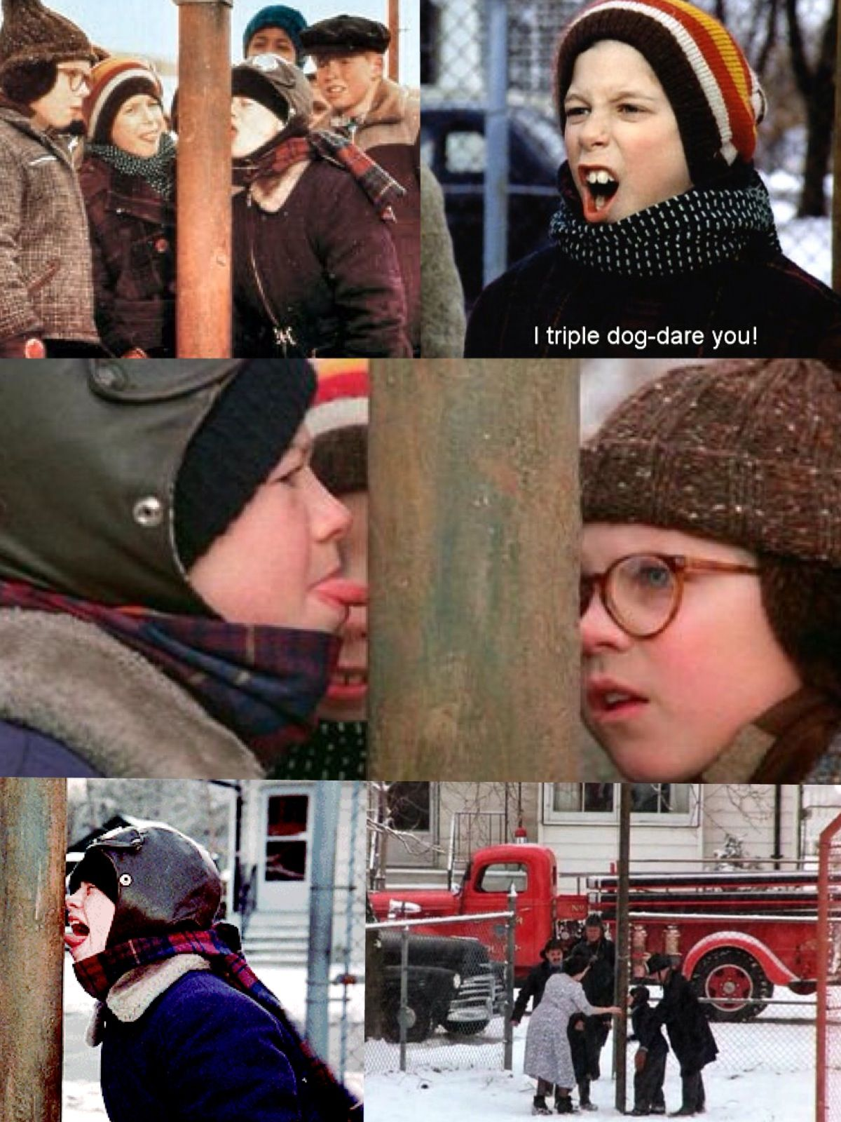 42ed7873a14 A Christmas Story 1983 - Flick  Are you kidding  Stick my tongue to that