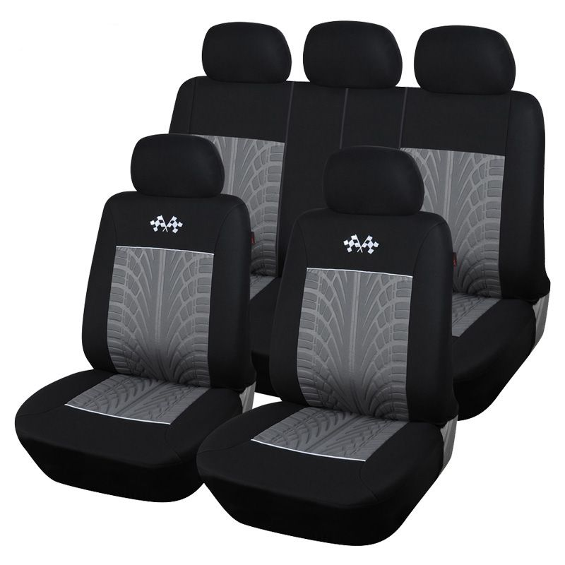 Car seat covers fit Nissan Juke full set grey//black sport style