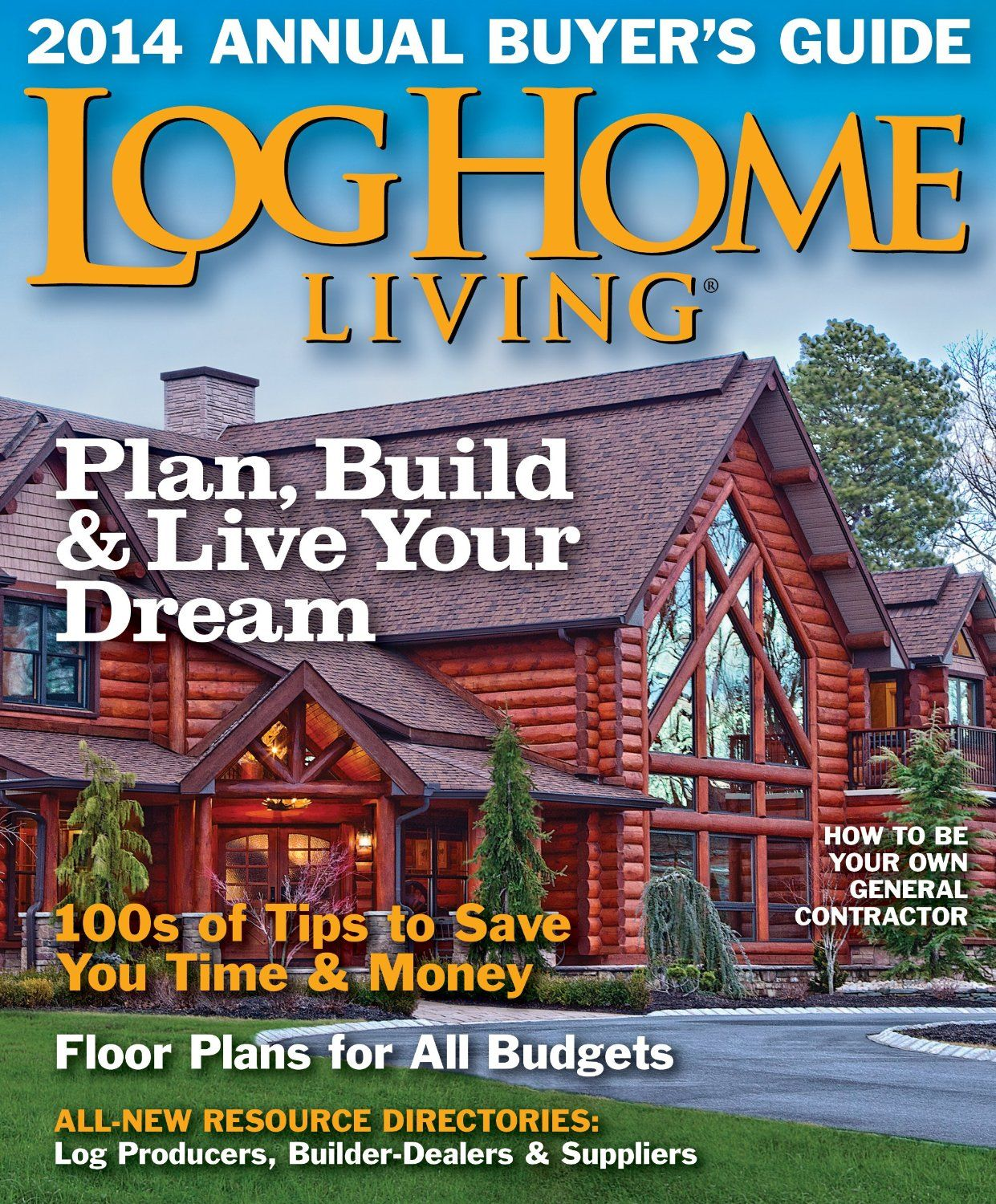 Log Home Living Magazine #homes #living #renovation