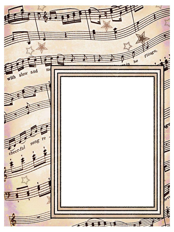 Scrapbook ideas music - Artbyjean Vintage Sheet Music Set 003 Vintage Sheet Music Free Clipart Biege Tan