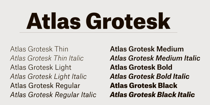 atlas grotesk - Google Search | typography | Type design