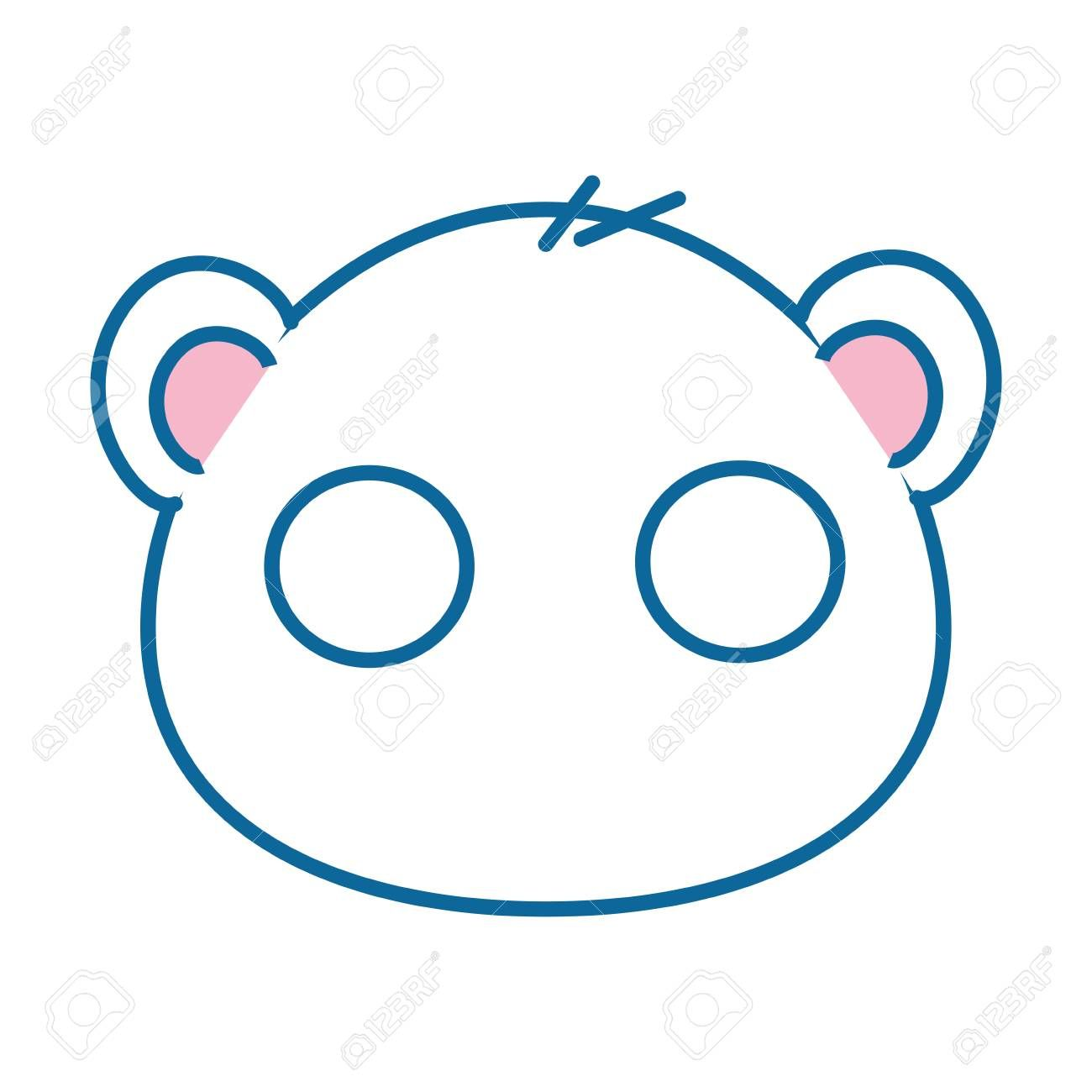 Isolated Cute Mouse Face Icon Vector Illustration Graphic Design Ad Mouse Face Isolated Cute Icon Face Icon Cute Mouse Vector Illustration
