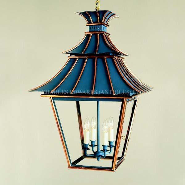 Pagoda lantern at charles edwards antique