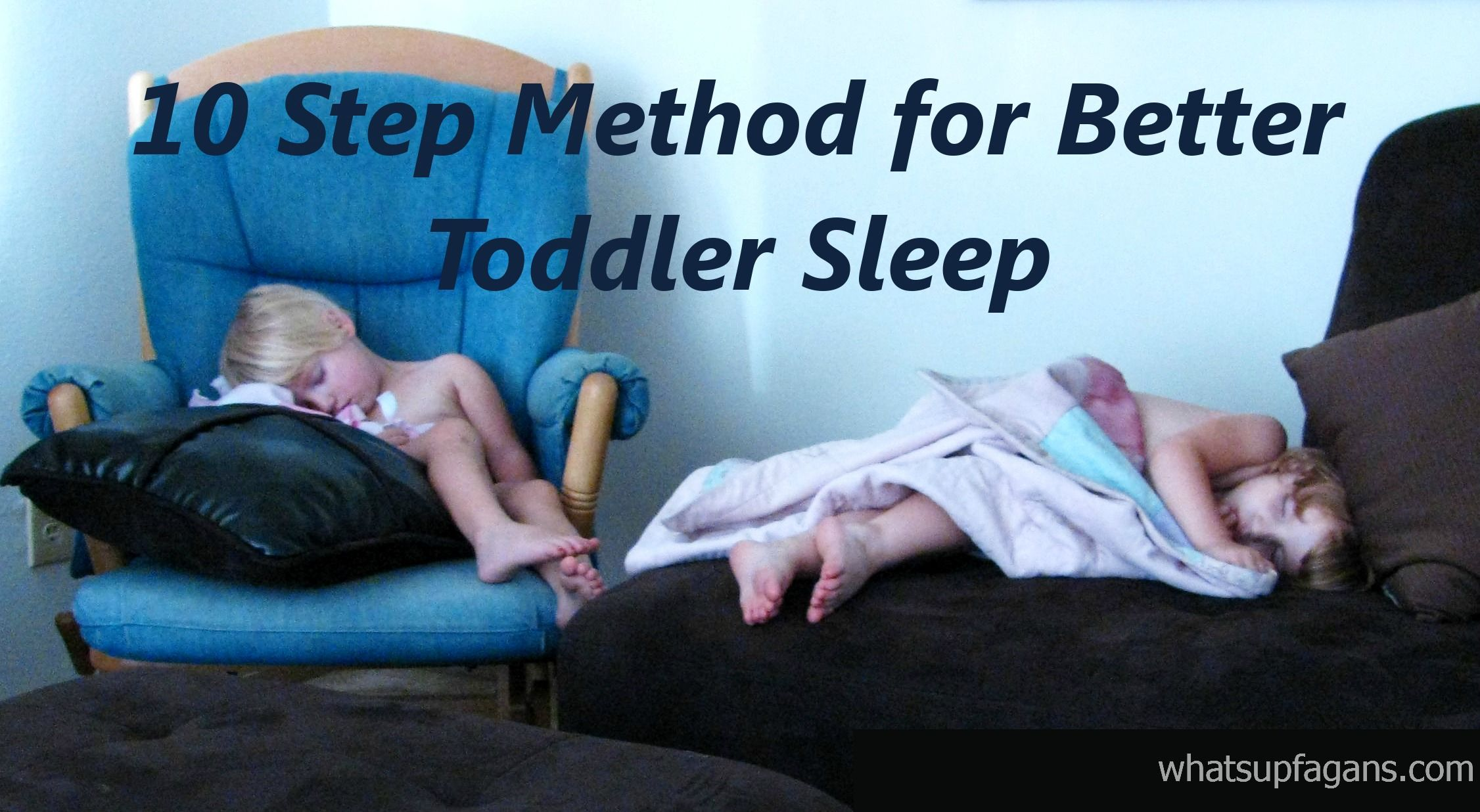How i get twins to sleep during nap time without