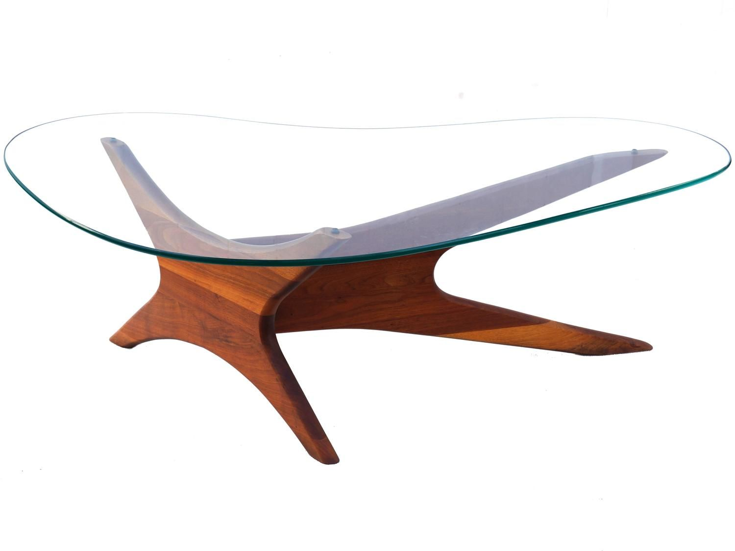 Adrian Pearsall Biomorphic Kidney Shaped Glass Coffee Table Mid Century Modern Glass Coffee Table Mid Century Modern Coffee Table Mid Century Coffee Table [ 1125 x 1500 Pixel ]