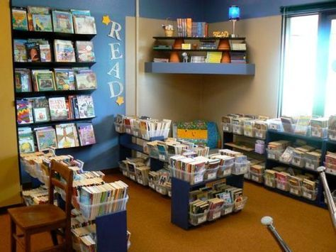 Now THAT's a classroom library!