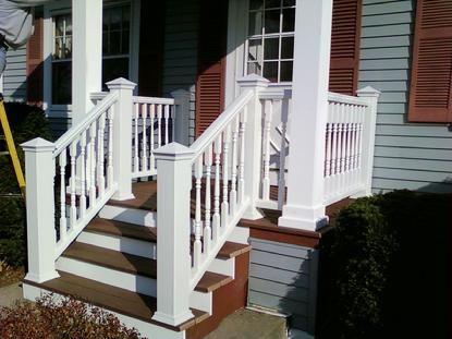 Pin by Andrea on Decks | Trex deck railing, Deck railings ...