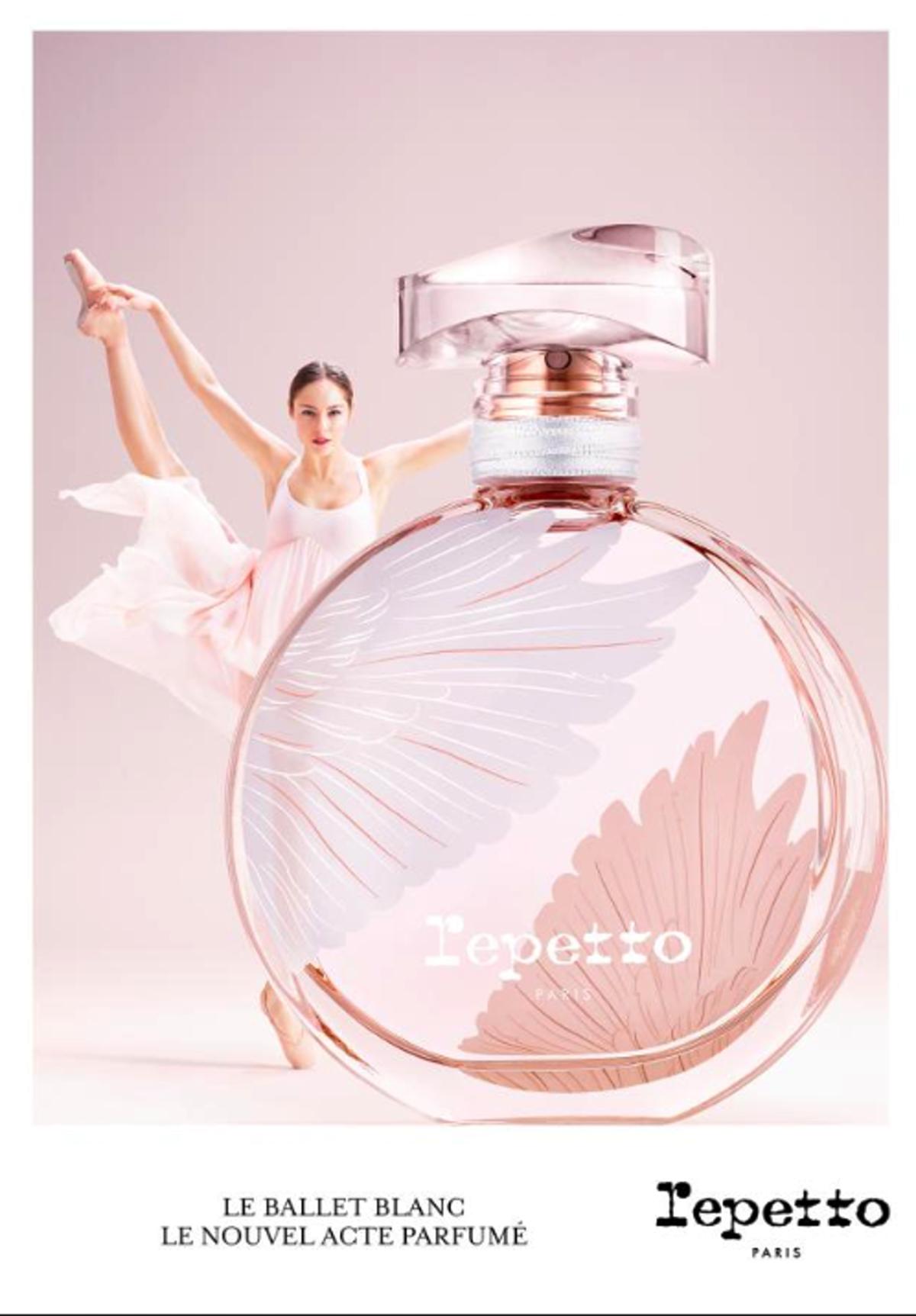 Parfum De Repetto Le Ballet Blanc Avec En égérie Marion Barbeau