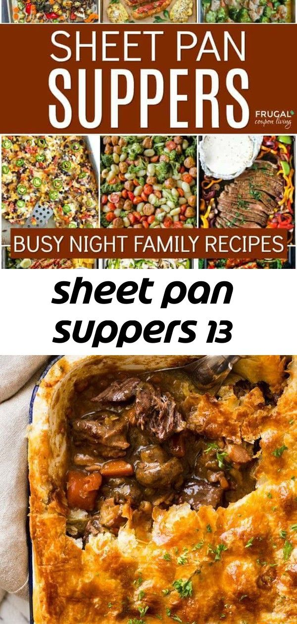 Sheet pan suppers 13 #sheetpansuppers