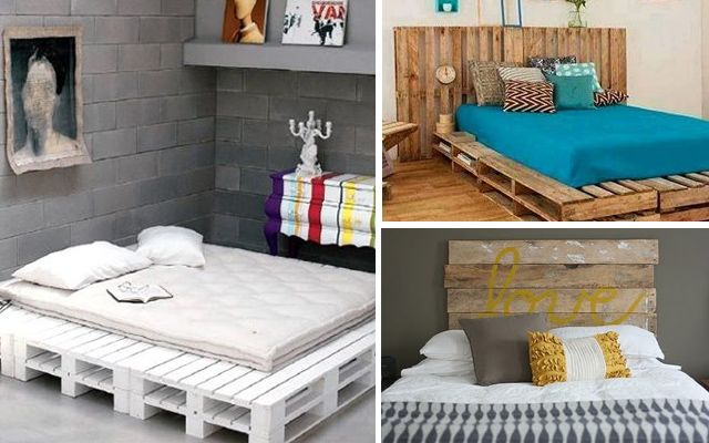 Ideas para decorar dormitorios con pallets decoraci n for Pinterest decoracion de interiores