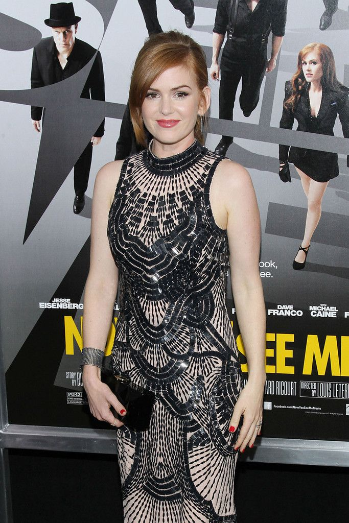 Isla Fisher in Yossi Harrai Jewelry at Now You See Me Premiere on http://www.shockya.com/news