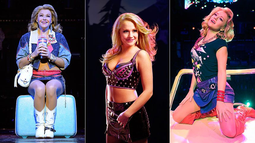 Rock Of Ages Carrie St Louis Proves She S Got Real 80s Street Cred Rock Of Ages Broadway Costumes Rock