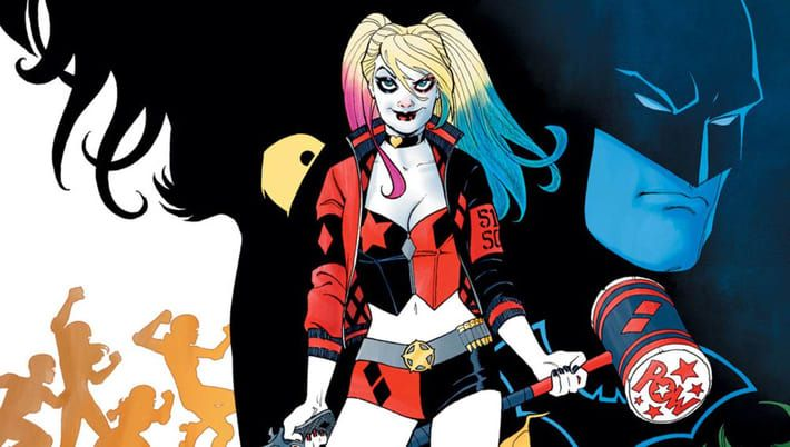 """The cover of """"Harley Quinn: Rebirth"""" Issue 1."""