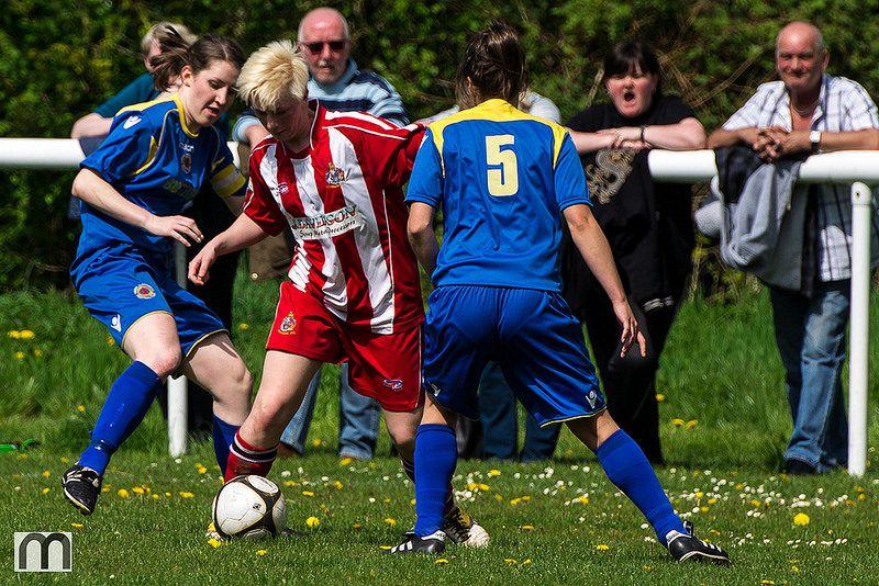 Dribbling skills tested here Aimee