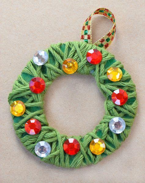 ▷ 1001 + suggestions de bricolage de Noël maternelle créatif #activitemanuellenoelmaternelle