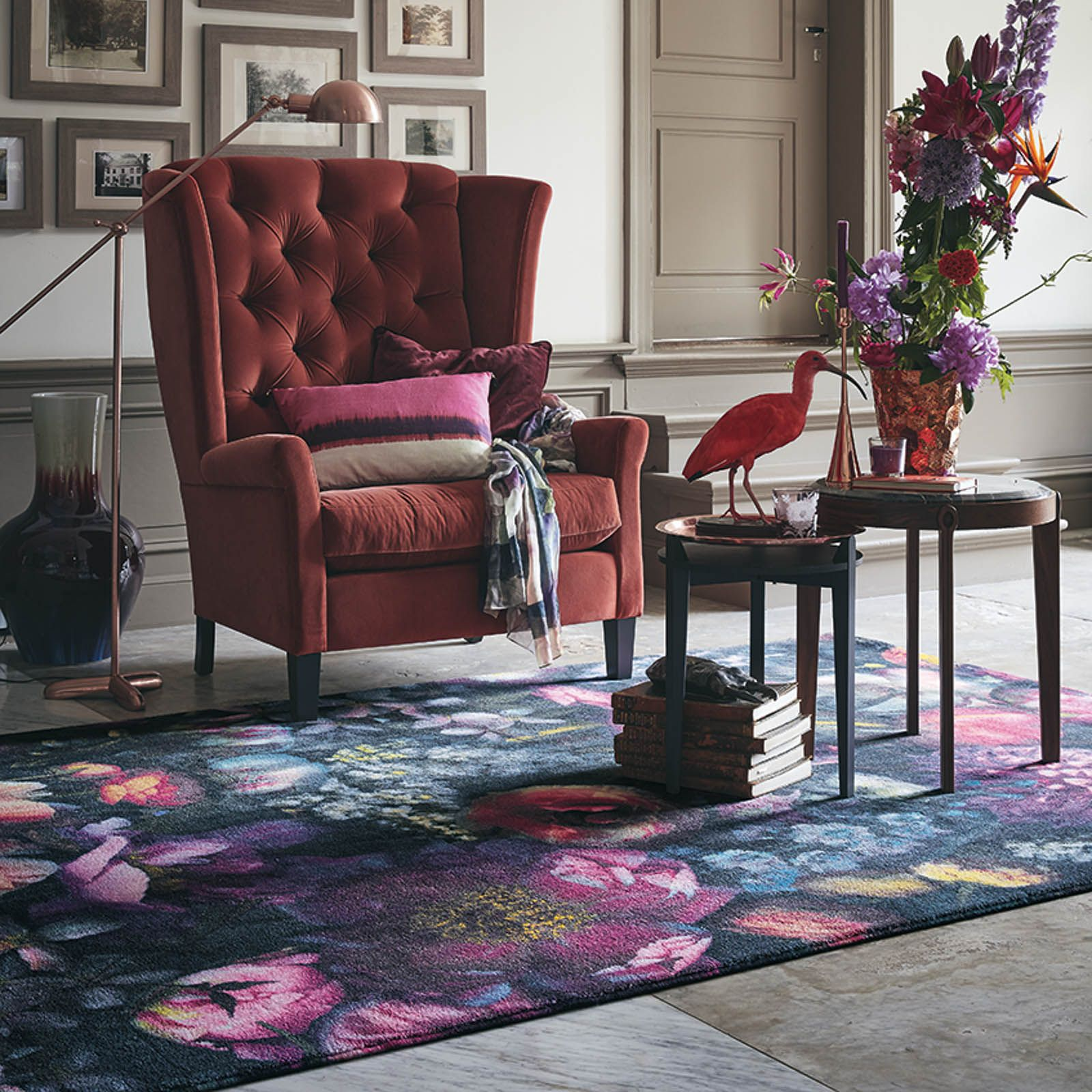 Shadow Fl Rugs 58005 By Ted Baker And
