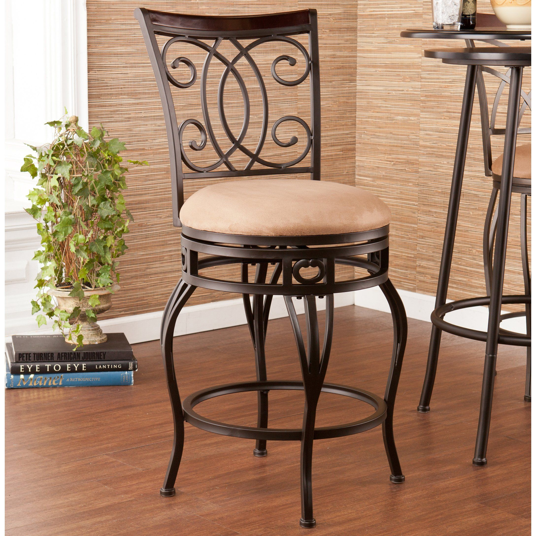 Swell Copper Grove Nepeta Swivel Champagne Counter Stool Os5611 Unemploymentrelief Wooden Chair Designs For Living Room Unemploymentrelieforg