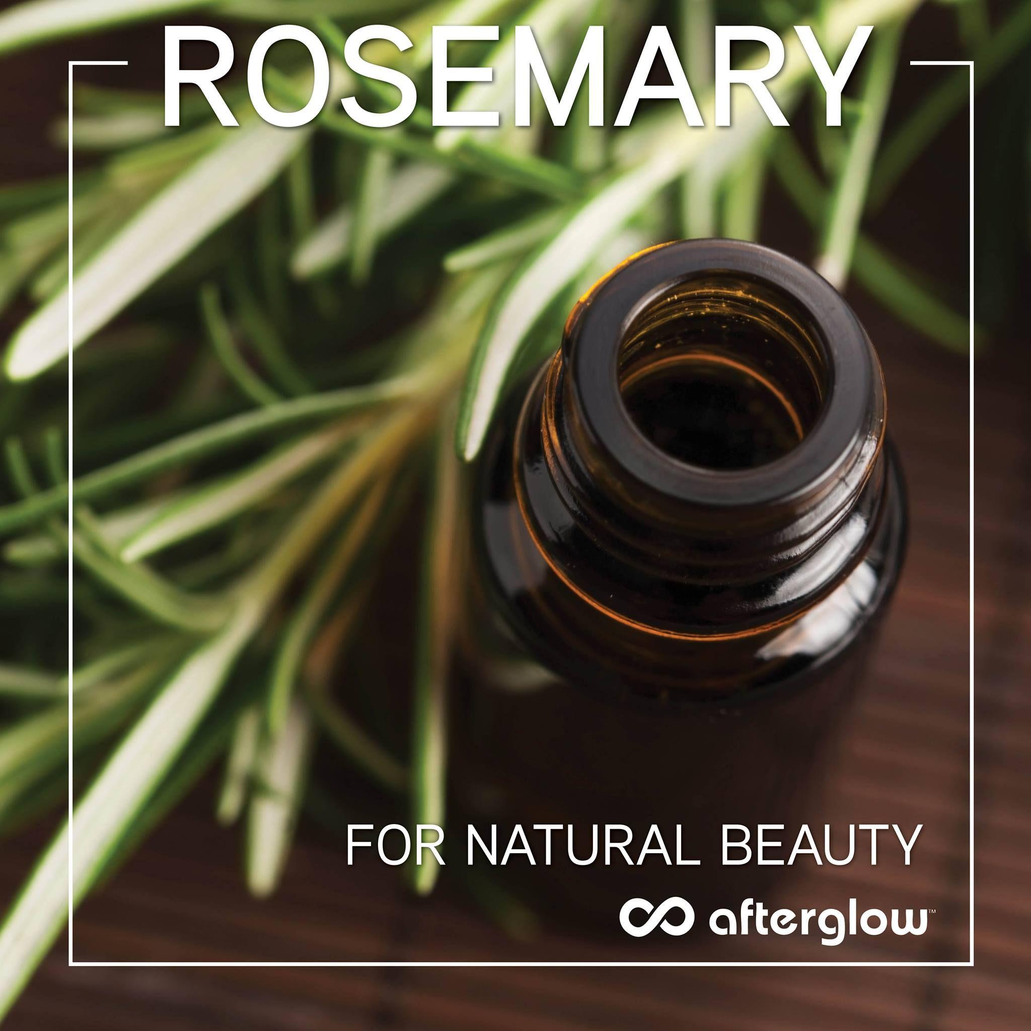 Rosemary for #NaturalBeauty!  #GlutenFree #AllNatural #Health #Wellness #CrueltyFree #Cosmetics #AfterglowCosmetics #Insideoutbeauty #NaturalCosmetics