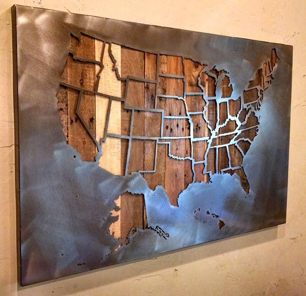 Large United States Map With State Borders All States - Clipart us map border security