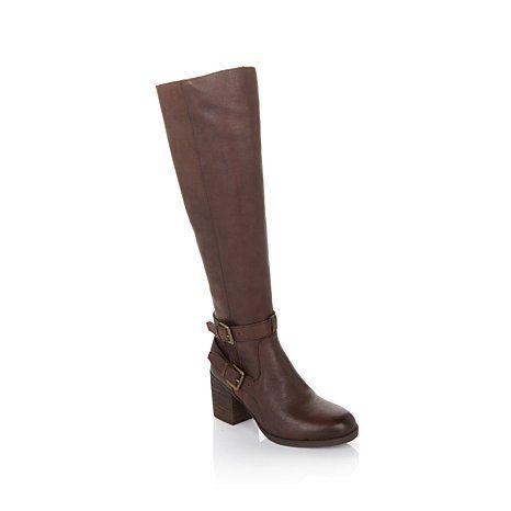 """Steve by Steve Madden """"Olyvvya"""" Tall Leather Boot"""