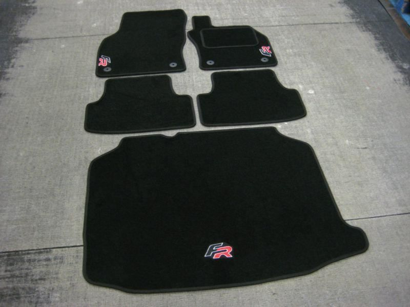 Details About Car Mats In Black To Fit Seat Leon Fr Rhd 2012 2019