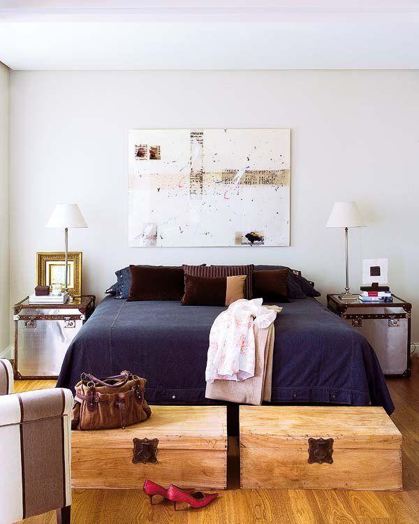 Muebles para colocar al pie de la cama   Pies de la cama, La cama y ...