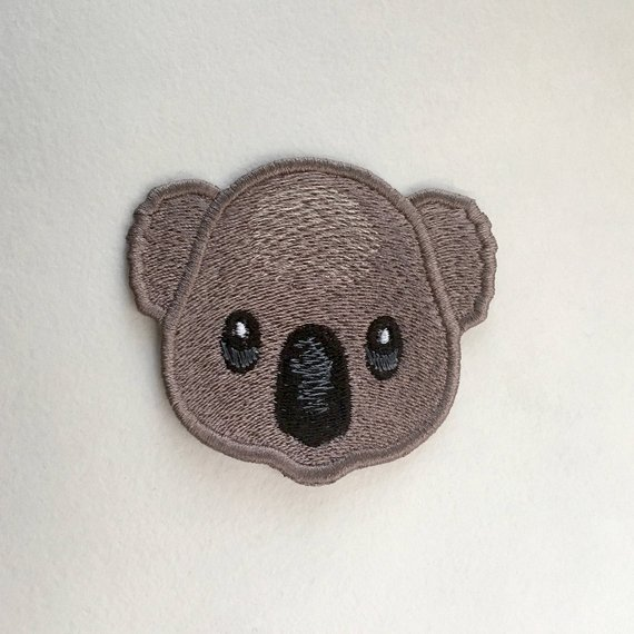 OLD FASHIONED TEDDY BEAR 6cm  Embroidered Iron Sew On Cloth Patch Badge APPLIQUE