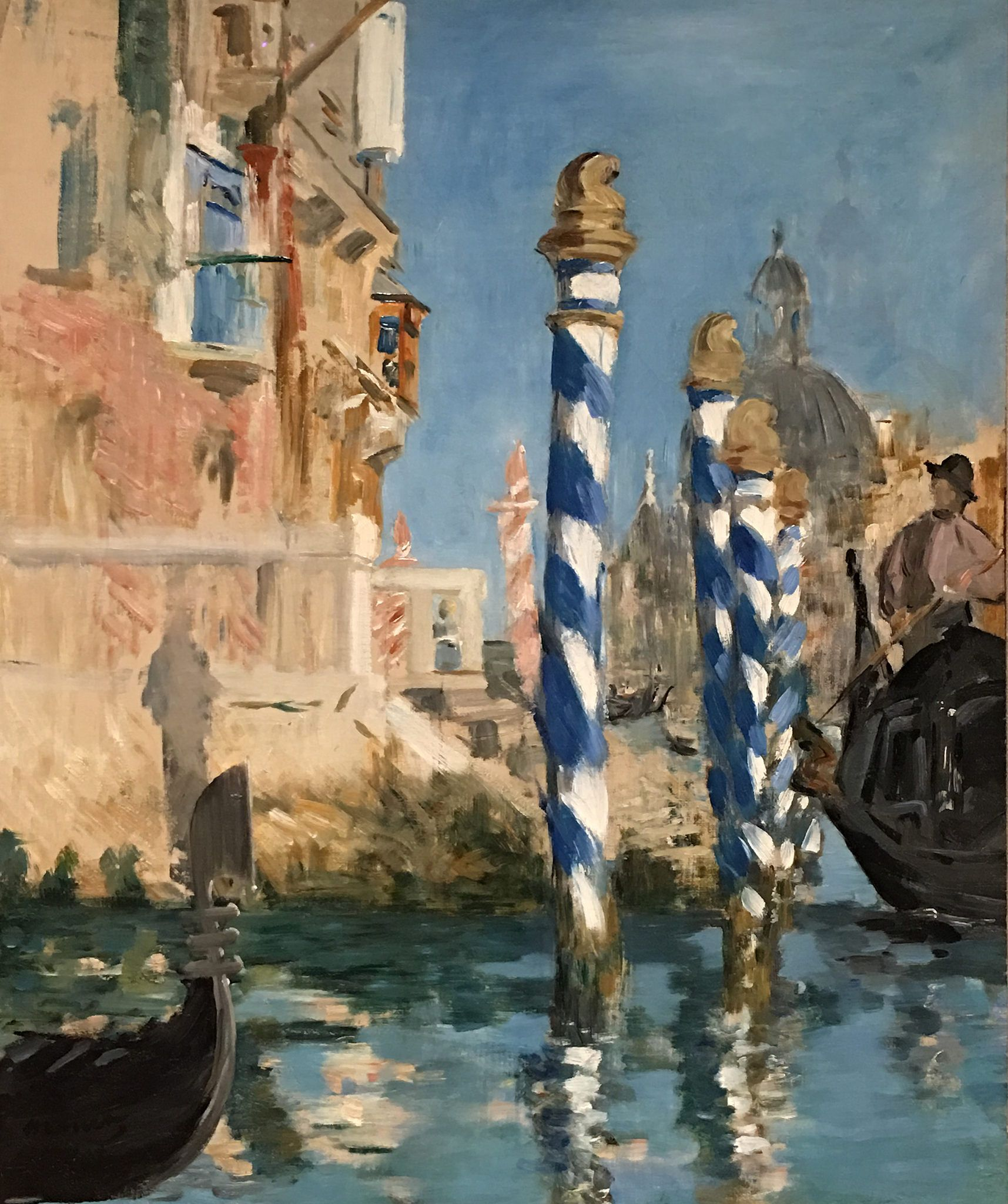 Edouard Manet View In Venice The Grand Canal 1874 Venice