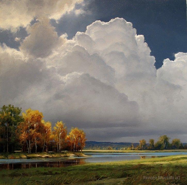 Rising Thunderhead -Study  Renato Muccillo