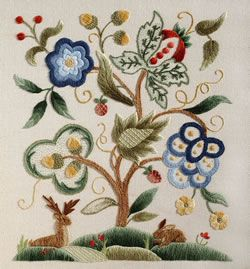 Jacobean Patterns Jacobean Crewel Embroidery Kits