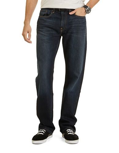 Nautica Submerge Relaxed Fit Jeans Men's Navy 38X30