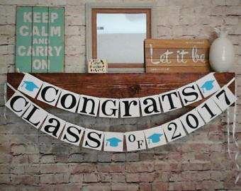congratulations banner congrats sign class of 2017 banner