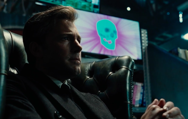 """It tracks the efforts of Bruce Wayne (Ben Affleck) to recruit the titular team of superheroes. 