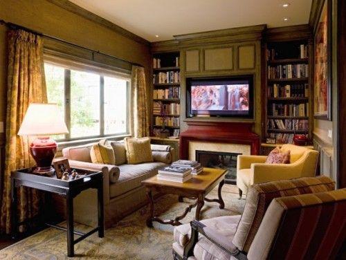 Furniture Layout For Den Large