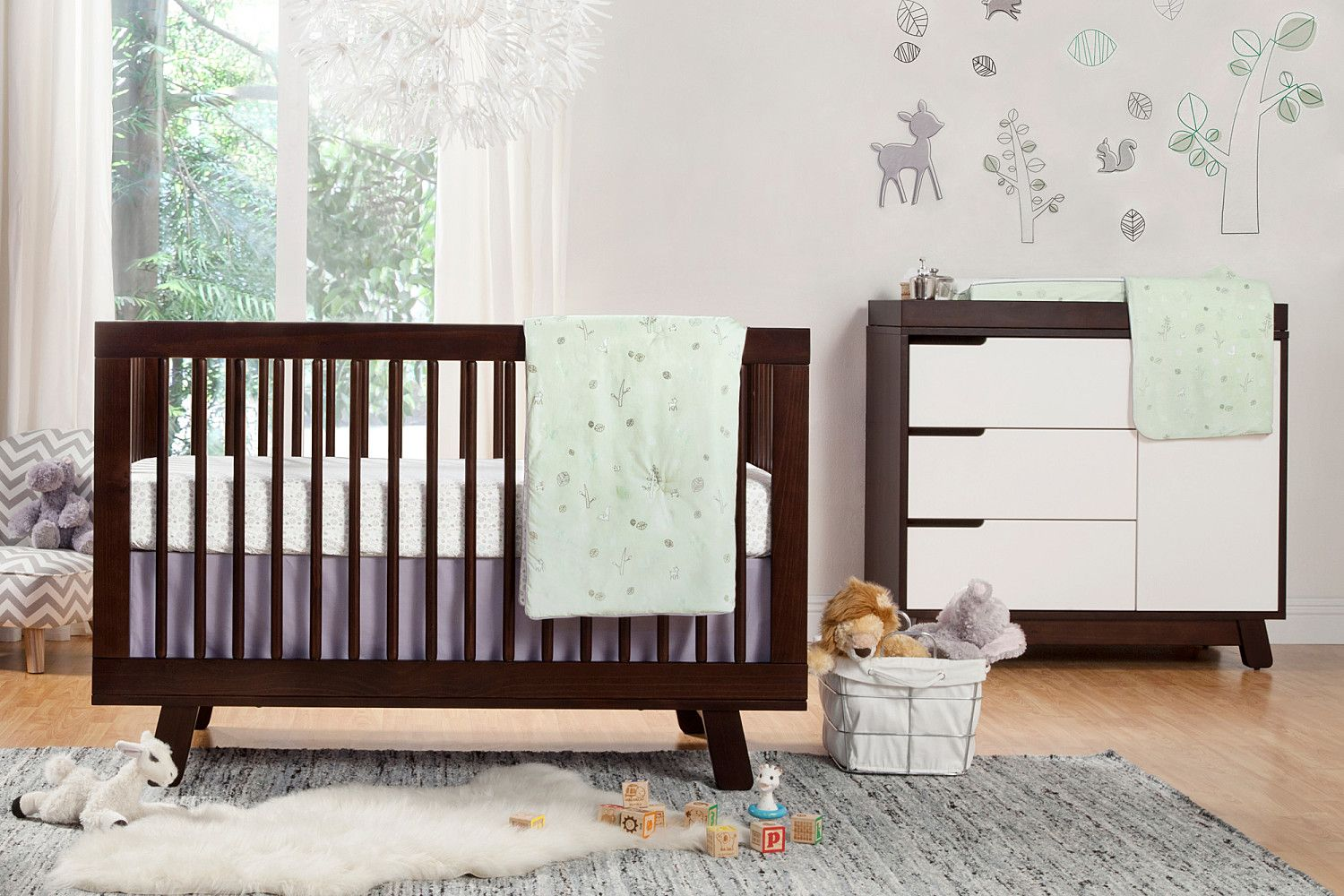 Hudson 3in1 Convertible Crib with Toddler Bed Conversion