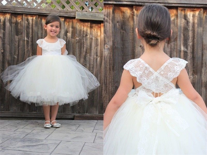 GIRLS DRESS SHOES Wedding Pageant Birthday Formal Party TODDLERS /& KIDS Ivory