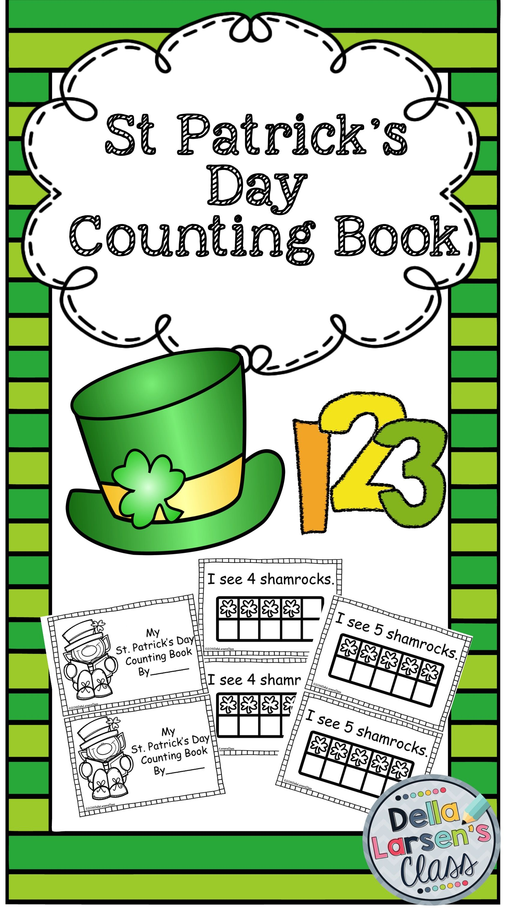 St Patrick S Day Counting Book