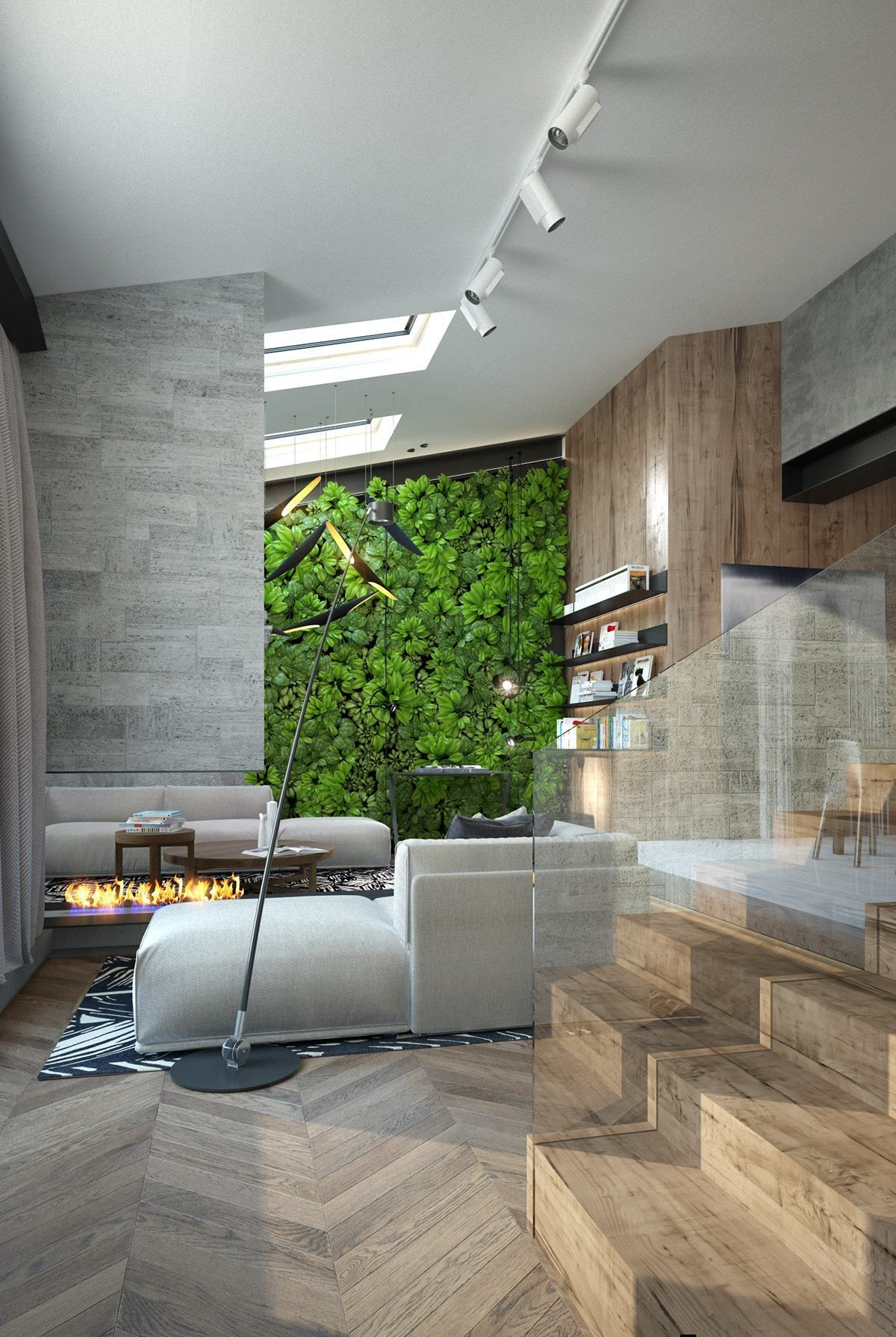 Homes With Inspiring Wall Treatments And Designer Lighting Lighting Design Interior Home Lighting Design Interior Design
