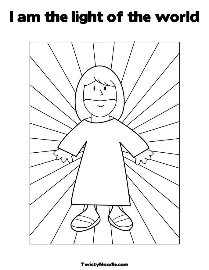 Light Coloring Page 2 Jesus Coloring Pages Bible Coloring Bible Coloring Pages