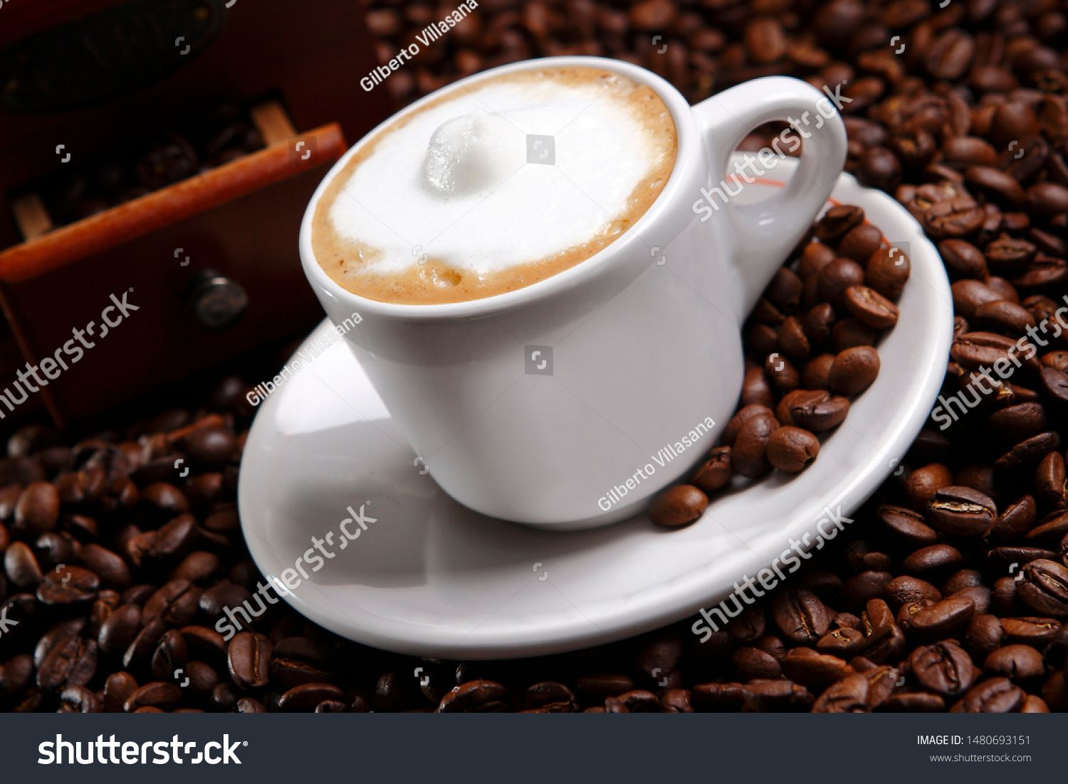 A Cappuccino Is An Espresso Based Coffee Drink That Originated In Italy And Is Traditionally Prepared With Steam Milk Ad S Coffee Drinks Cappuccino Drinks
