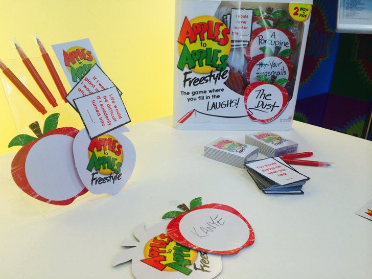 Pin for Later: Here's Your Peek Into 200+ Toys That Will Hit Store Shelves Later This Year Apples to Apples Freestyle