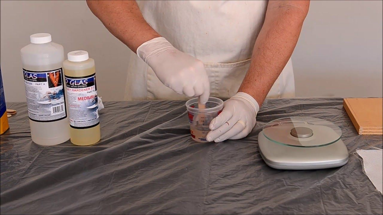 Epoxy Resin - Uses and how to mix  Fiberglass, resin