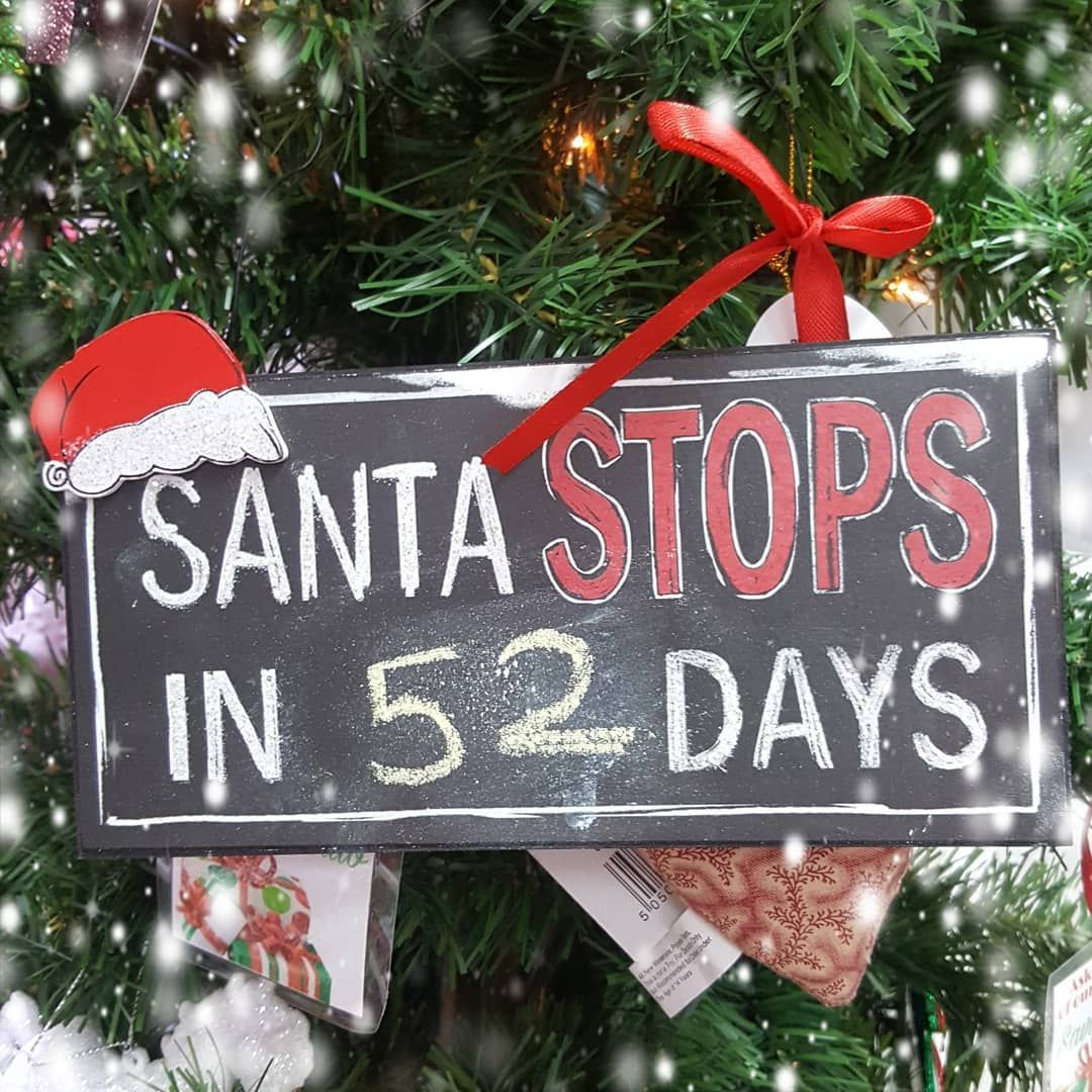 Wow Only 52 Days Until Christmas Eve Have You Started Your Shopping Yet We Hav Merry Christmas Happy Holidays Days Until Christmas Christmas Decor Diy
