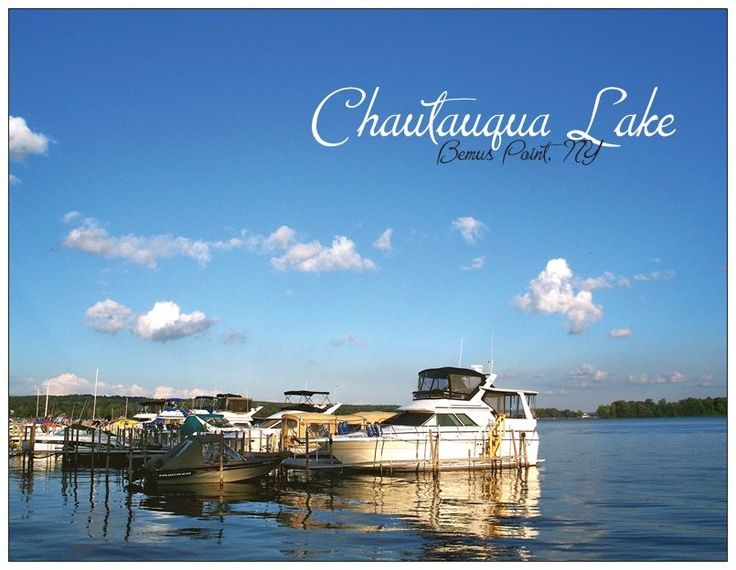 Chautauqua lake in bemus point ny with images