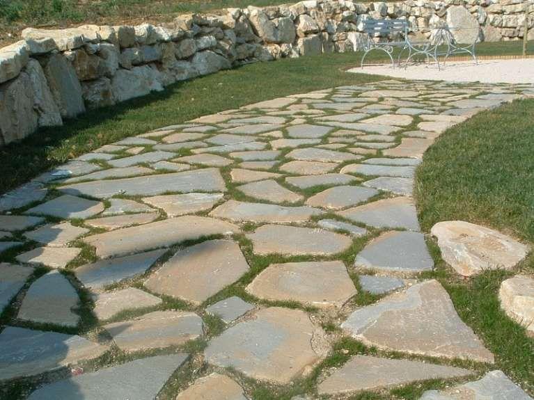 Pavimentazione da giardino lastre per pavimentazione esterna