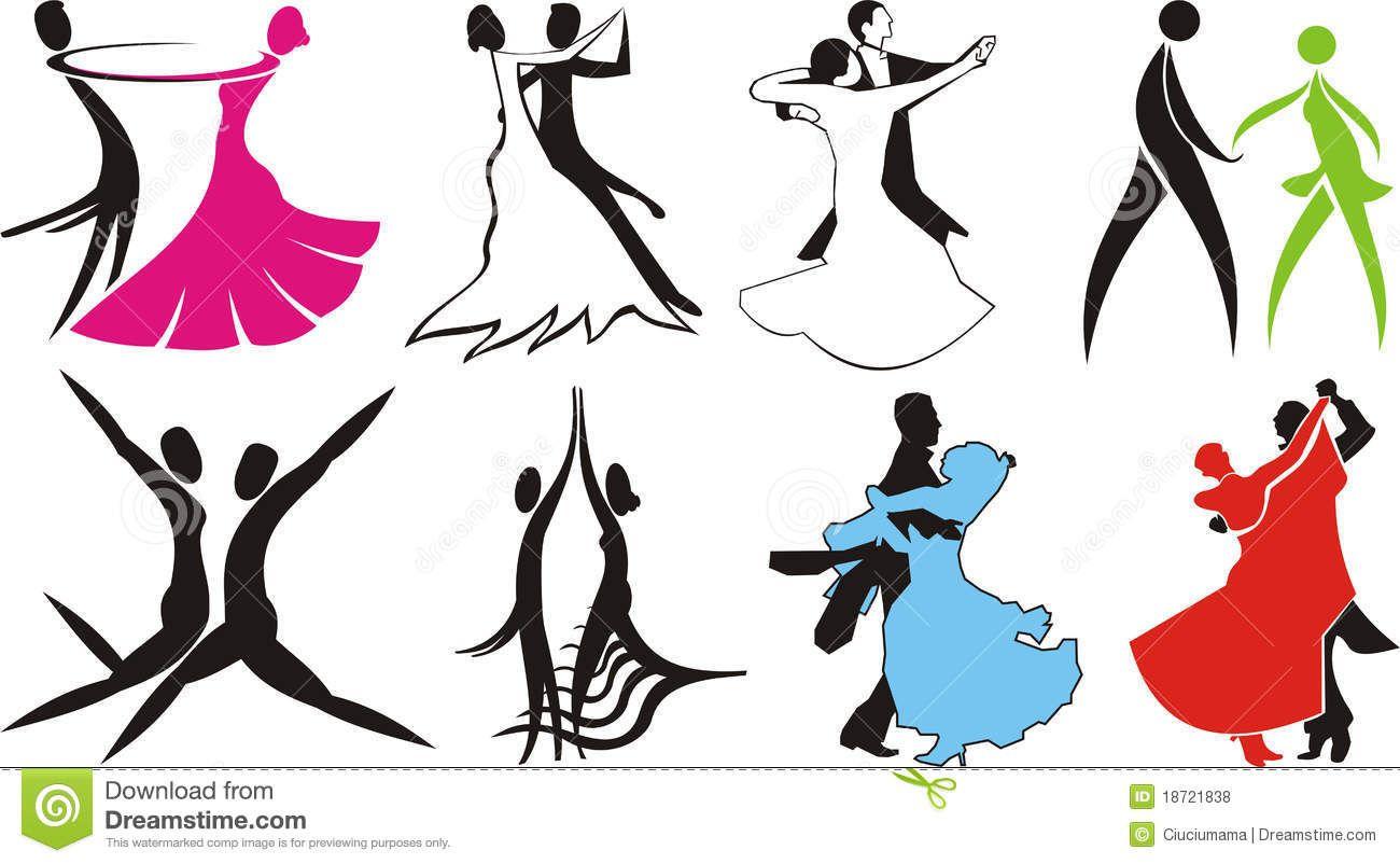 small resolution of ballroom dance logos silhouettes royalty free stock photos