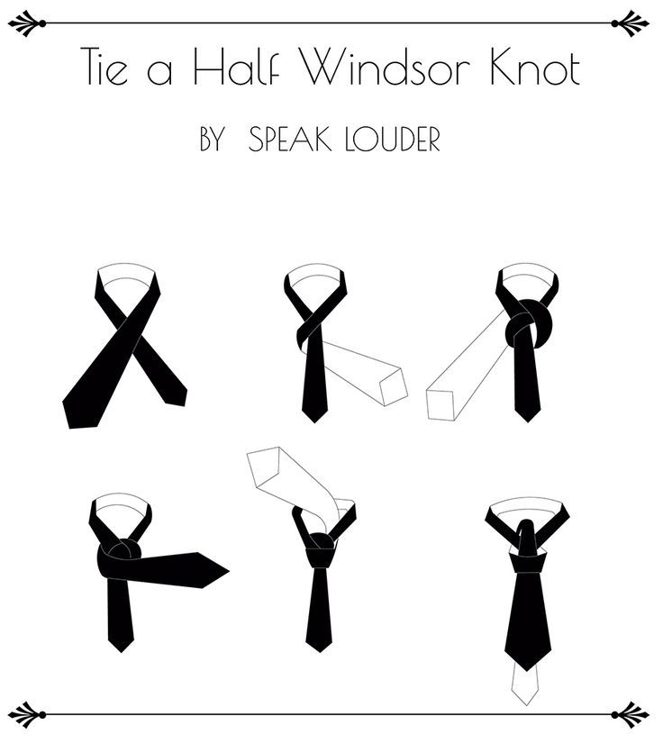 How To Tie A Half Windsor Knot Very Very Simple To Look Even More