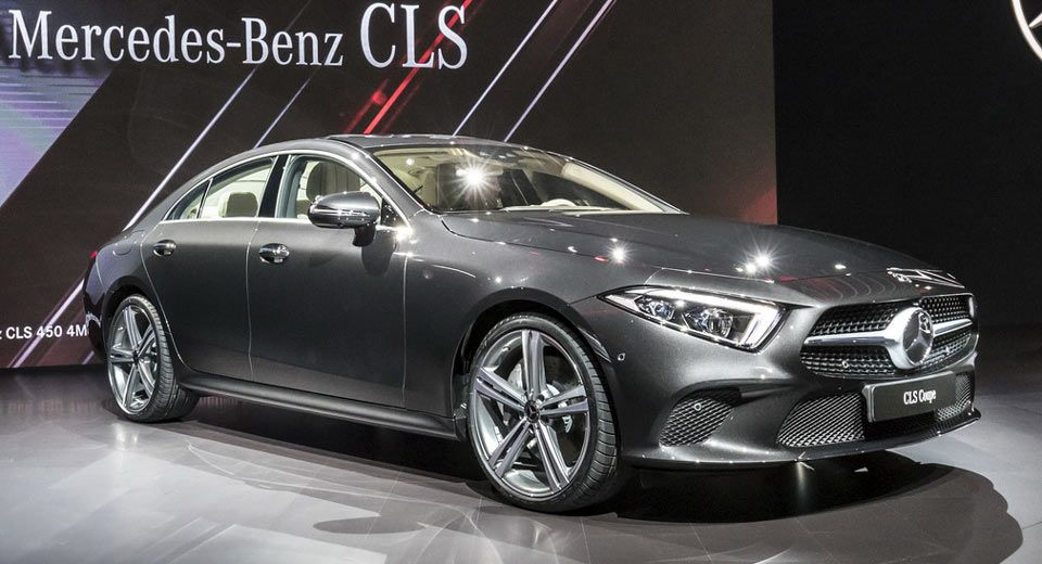 2019 Mercedes Benz Cls Four Door Coupe Is Back With Straight 6
