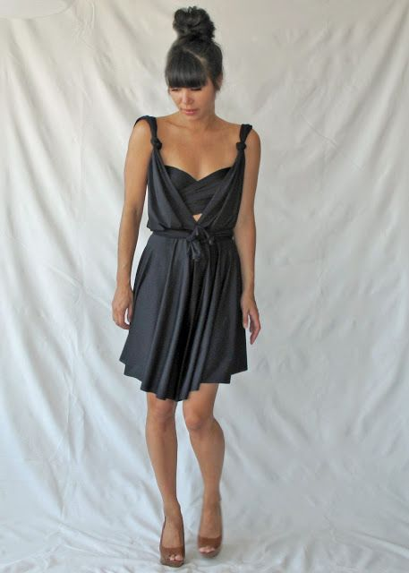 f7449f106908 Convertible Romper Dress Pattern. Now that I ve got an infinity dress.