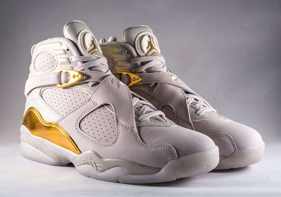 "a77e67e085c Air Jordan 8 Retro ""Cigar   Champagne"" Pack  27 Picture Preview - EU Kicks   Sneaker Magazine"